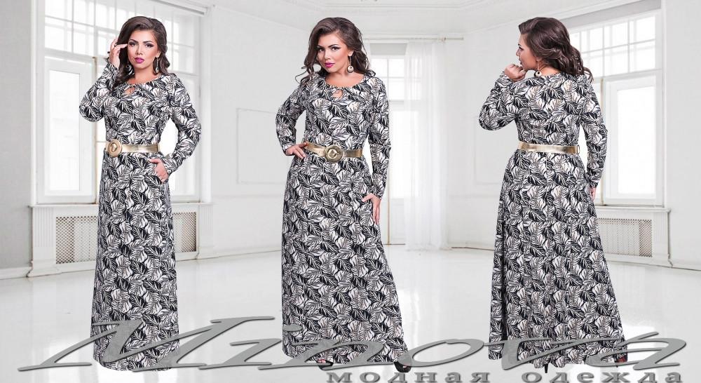 Платье №00159-черный