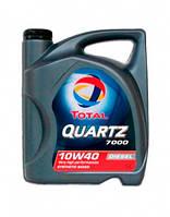 Масло моторное TOTAL 10W-40 QUARTZ 7000 Diesel 5L