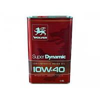 Масло моторное WOLVER Super Dinamic 10W-40, API SL/CF 4л