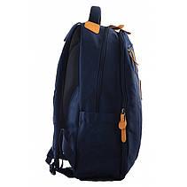 Рюкзак молодежный OX 349, 46*29.5*13, синий, фото 3