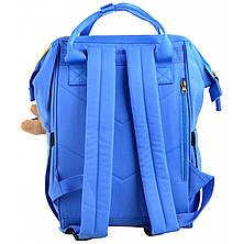 Рюкзак молодежный OX 385, 40*26*17.5, голубой, фото 2
