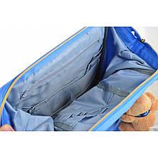 Рюкзак молодежный OX 385, 40*26*17.5, голубой, фото 3