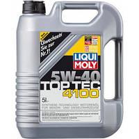 (+ПОДАРОК) Масло моторное Liqui Moly TOP TEC 4100 5W-40 5L (7501)