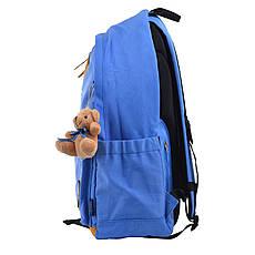 Рюкзак молодежный OX 404, 47*30.5*16.5, голубой, фото 2