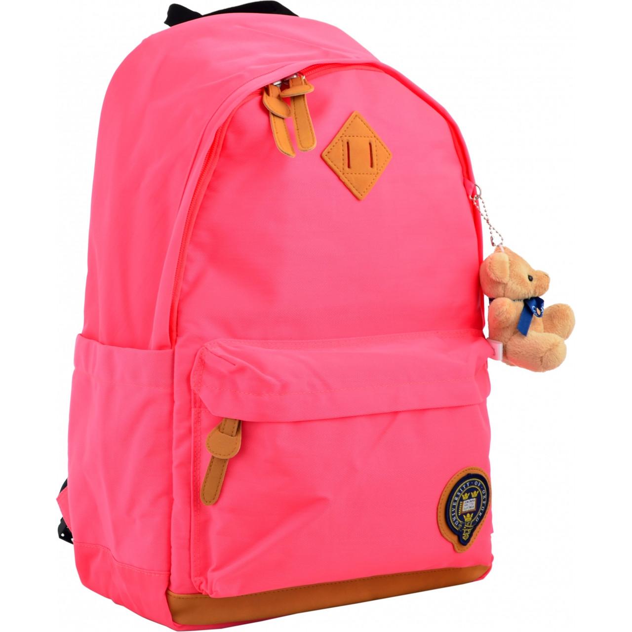 Рюкзак молодежный OX 404, 47*30.5*16.5, розовый