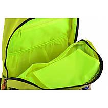 Рюкзак молодежный OX 405, 47*31*12.5, желтый, фото 2