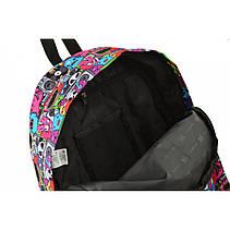 Рюкзак молодежный ST-17 Crazy muzic, 42*32*12, фото 2