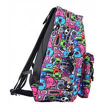 Рюкзак молодежный ST-17 Crazy muzic, 42*32*12, фото 3