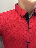 Летняя мужская рубашка стрейч S,M,XL, фото 2