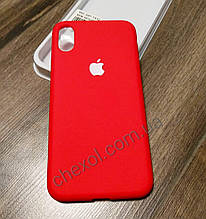 Soft-touch Silicone Cover для Samsung J8(2018) / J810 Красный