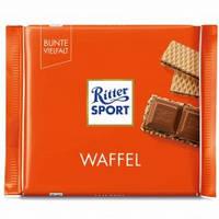 Шоколад Ritter Waffel с вафлей 100 г. Германия