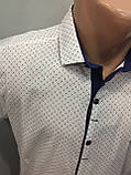 Мужская рубашка стрейч котон XL,2XL, фото 2