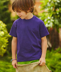 Футболка для мальчиков Классическая Kids Valueweight - 61-033-0