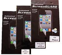 Защитная пленка iPhone 4 матовая, оригинал