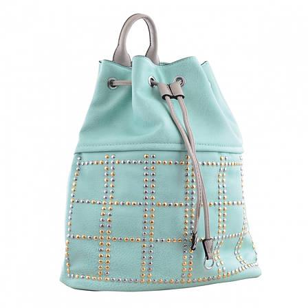 Рюкзак молодёжный YW-26, 29*35*12, бирюзовый, фото 2