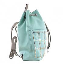 Рюкзак молодёжный YW-26, 29*35*12, бирюзовый, фото 3