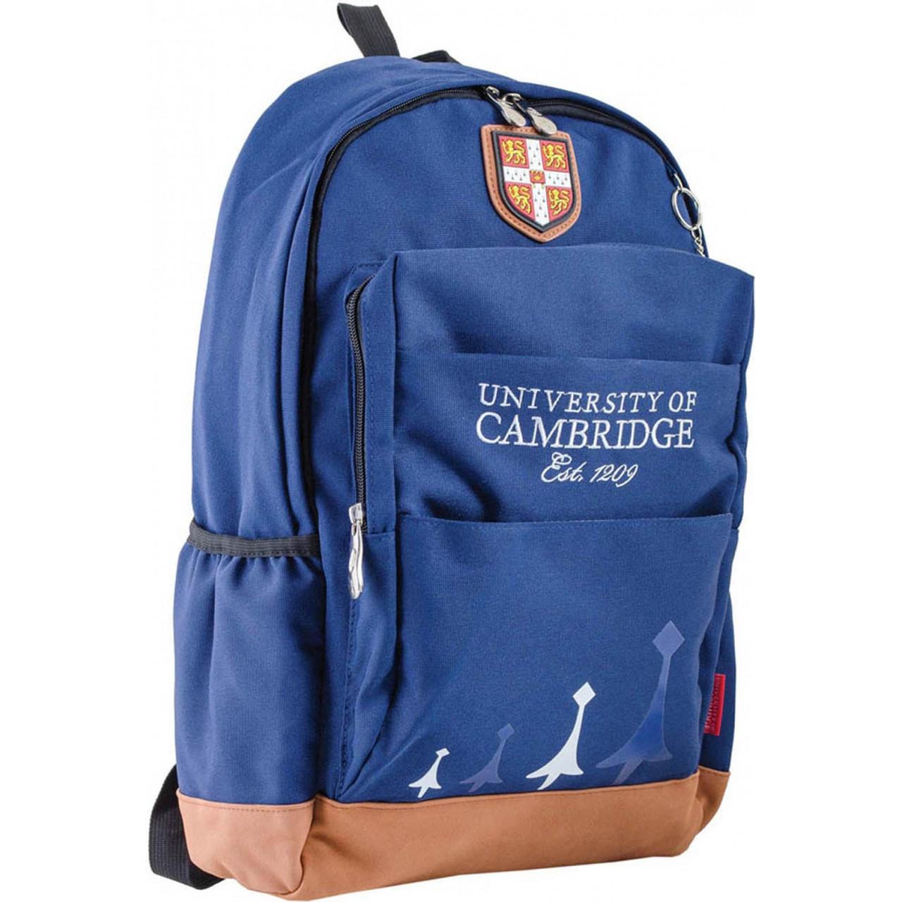 Рюкзак подростковый CA 083, синий, 29*47*17