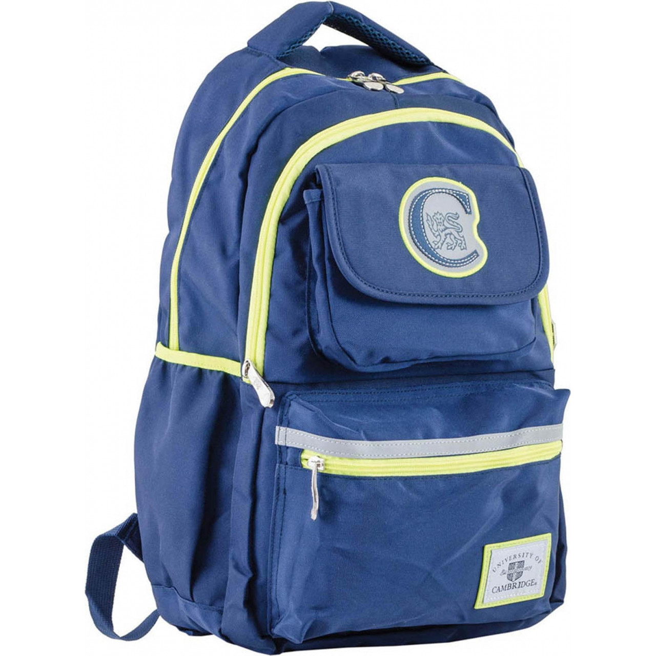 Рюкзак подростковый CA 104, синий, 31*46*14