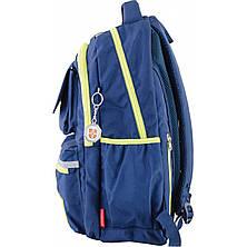 Рюкзак подростковый CA 104, синий, 31*46*14, фото 2