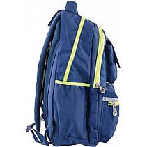 Рюкзак подростковый CA 104, синий, 31*46*14, фото 3