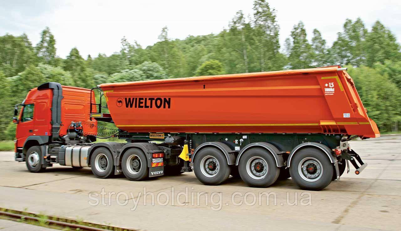 Услуги самосвала с полуприцепом  40 тонн (30 куб. м. )