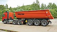 Услуги самосвала с полуприцепом  40 тонн (30 куб. м. ), фото 1