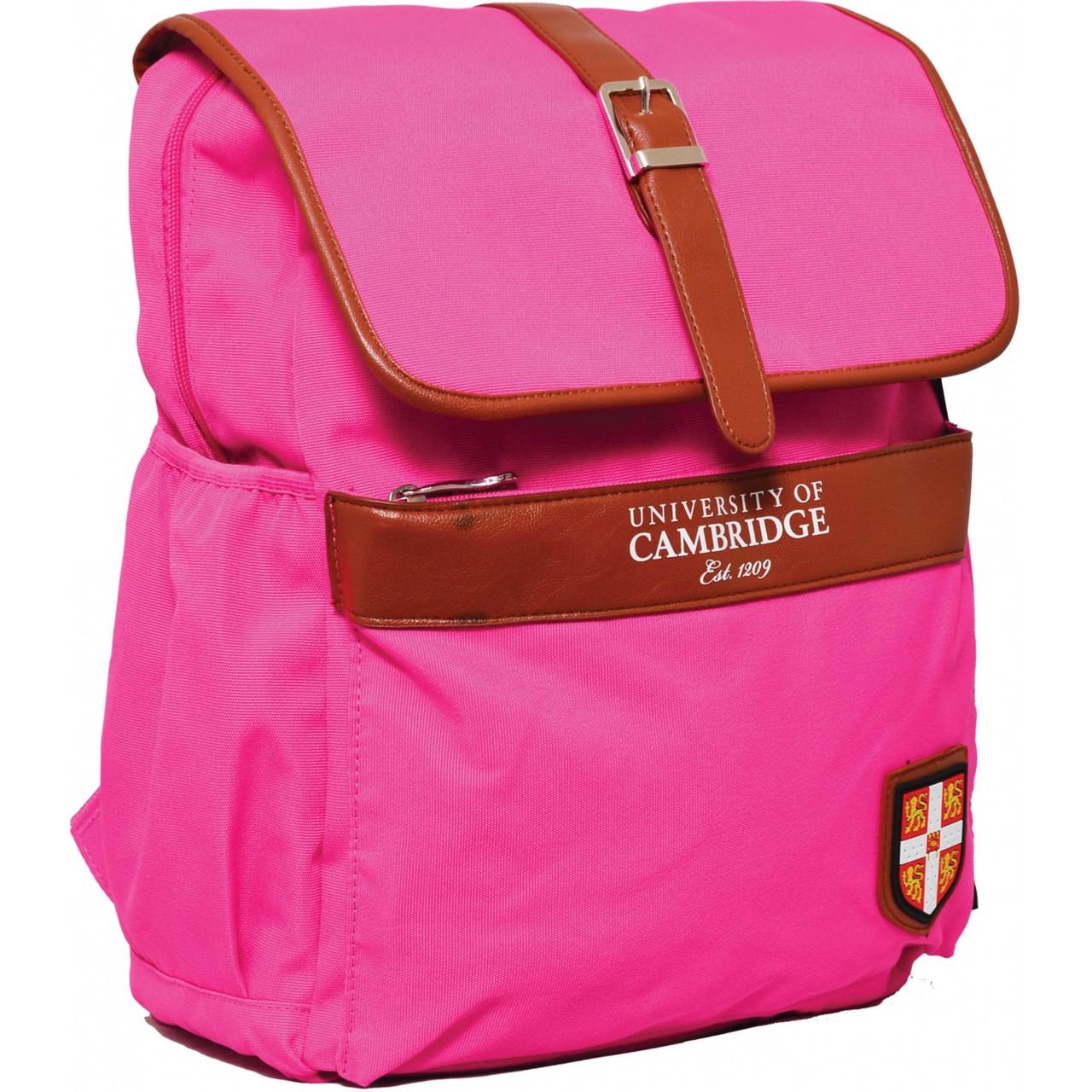 """Рюкзак подростковый CA071 """"Cambridge"""", розовый, 29*13*35.5см"""