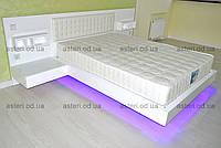 Кровать с подстветкой на заказ Одесса