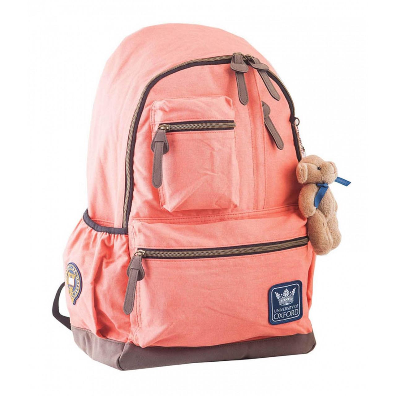 Рюкзак подростковый OX 236, персиковый, 30*47*16