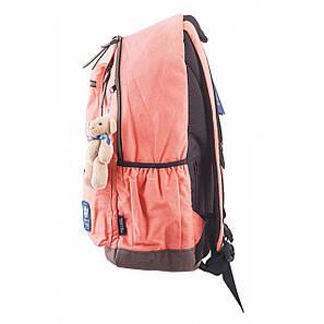 Рюкзак подростковый OX 236, персиковый, 30*47*16, фото 2