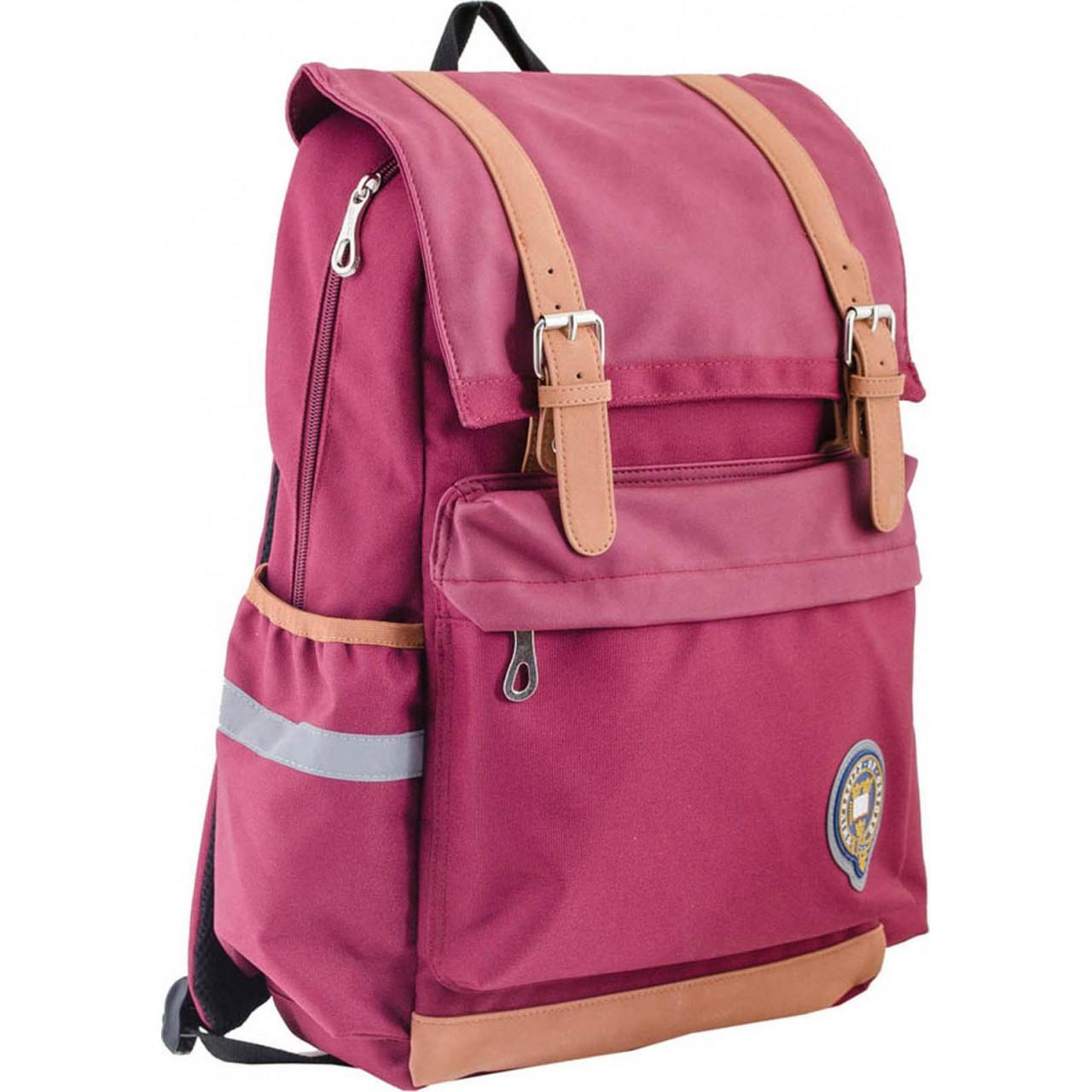 Рюкзак подростковый OX 301, бордовый, 28*42*13