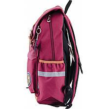 Рюкзак подростковый OX 301, бордовый, 28*42*13, фото 2