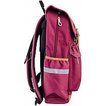 Рюкзак подростковый OX 301, бордовый, 28*42*13, фото 3