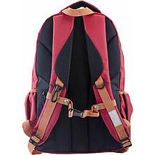 Рюкзак подростковый OX 302, бордовый, 30*47*14.5, фото 3