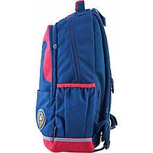 Рюкзак подростковый OX 335, синий, 30*48*14.5, фото 2