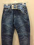 Модные детские джинсы джоггеры для мальчика 104,110,128,134 см, фото 2