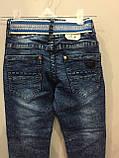 Модные детские джинсы джоггеры для мальчика 104,110,128,134 см, фото 5