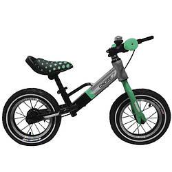 Детский беговел BALANCE TILLY T-212510Turquoise (бирюзовый)''Велобег Concord''12дюймов,надувные колеса