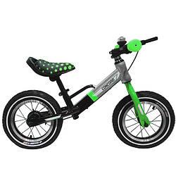 """Дитячий беговел BALANCE TILLY T-212510 Green (зелений) """"велобіг від Concord"""" 12 дюймів, надувні колеса."""