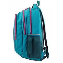 Рюкзак подростковый Т-22 Mint hearts, 43*30*15, фото 2
