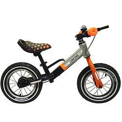 Детский беговел BALANCE TILLY T-212510Orange (оранжевый)''Велобег Concord''12дюймов,надувные колеса.