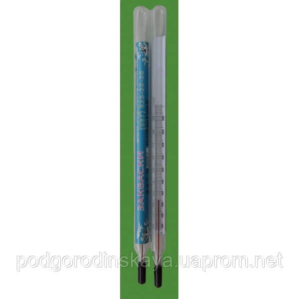 Термометр стеклянный для измерения температуры молока