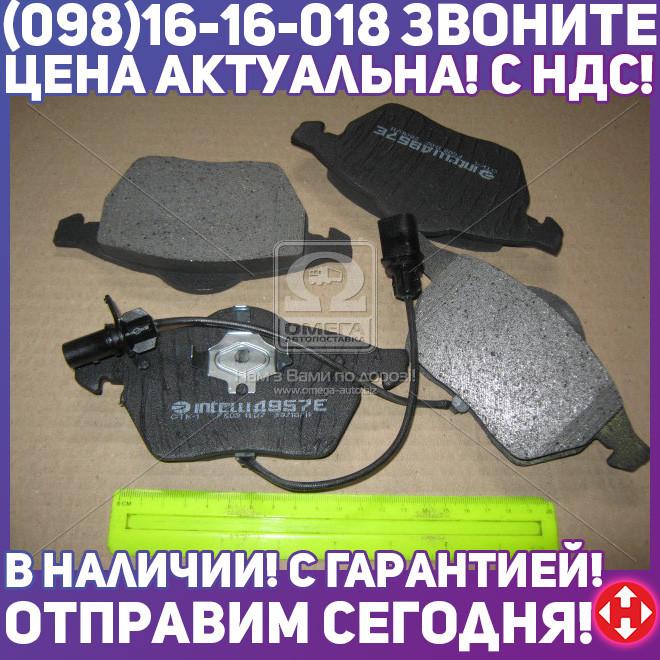 ⭐⭐⭐⭐⭐ Колодка торм. передняя ( с датчиком ) (пр-во Intelli)