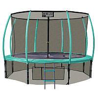 Батут Ultimar  430 cм 14ft Премиум+(кольцо, лестница, брезент от дождя)