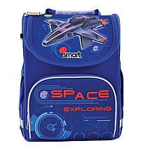 """Рюкзак школьный, каркасный PG-11 """"Space"""", фото 3"""