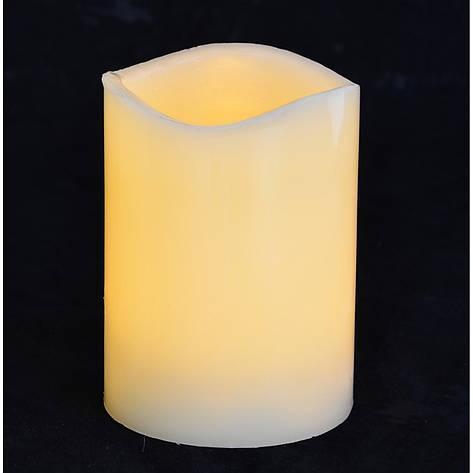 Свеча восковая LED, 7.5*10, фото 2