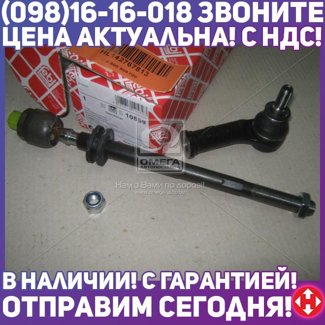 ⭐⭐⭐⭐⭐ Тяга рул. VW T4 передн. прав. (производство  Febi) ФОЛЬКСВАГЕН,ТРAНСПОРТЕР  4, 10589