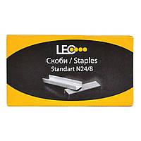 Скобы для степлера №24/8 упаковка 10 наборов по 1000 скоб. L3283