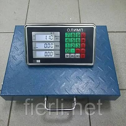 Товарные весы Олимп TCS-R2 (300 кг) БЕСПРОВОДНЫЕ 400х500 мм.