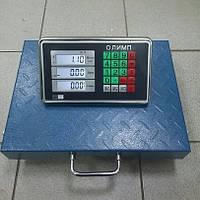 Товарные весы Олимп TCS-R2 (300 кг) БЕСПРОВОДНЫЕ 400х500 мм., фото 1
